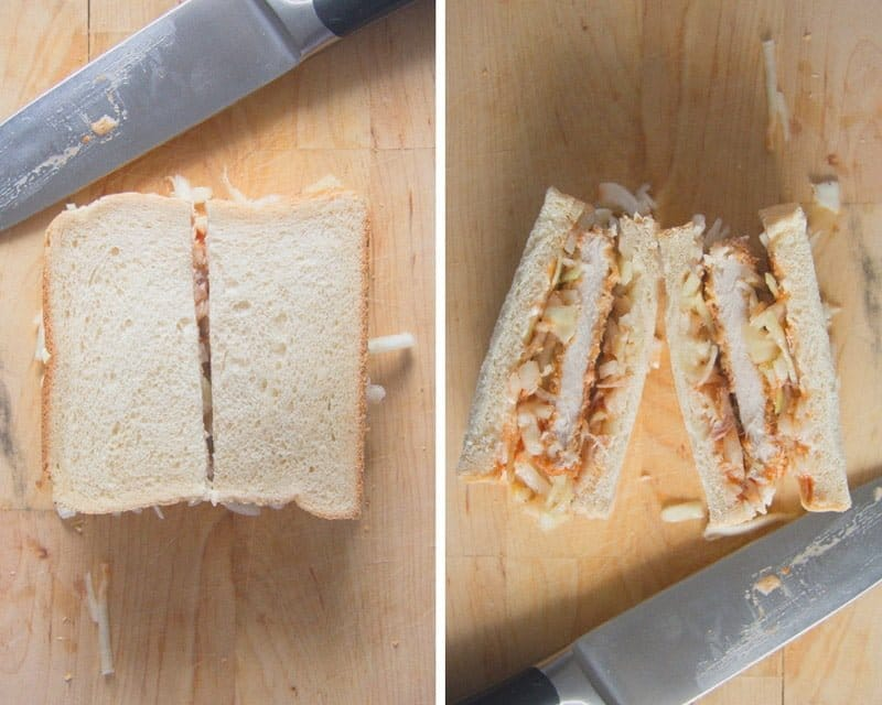 how to make katsu sando 3 Katsu Sando with Tonkatsu Sauce – Japanese Pork Sandwich
