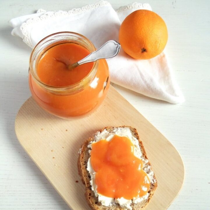 blood orange spread 768x1024 720x720 Orange Jam   Low Sugar Jam