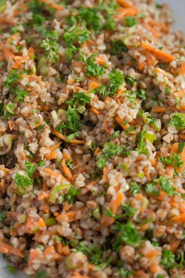 buckwheat salad recipe 10 Roasted Buckwheat Salad – Vegan Buckwheat Recipe
