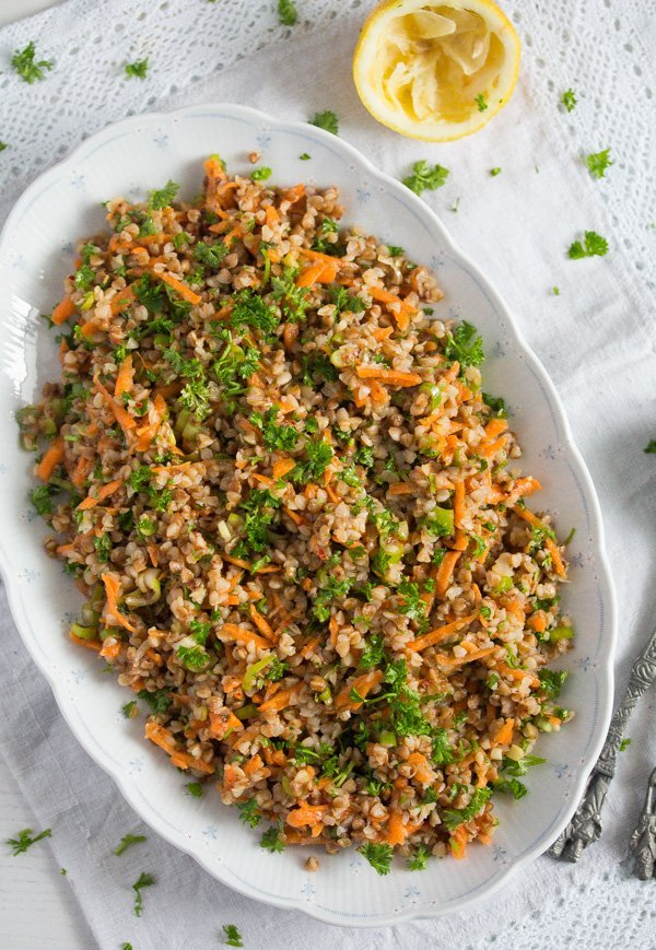 buckwheat salad recipe 6 Roasted Buckwheat Salad – Vegan Buckwheat Recipe