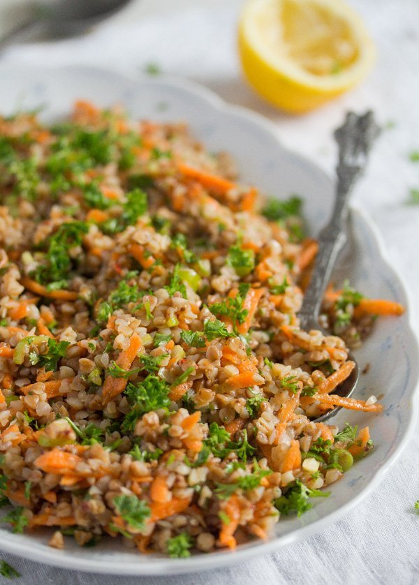 buckwheat salad recipe 8 Roasted Buckwheat Salad – Vegan Buckwheat Recipe