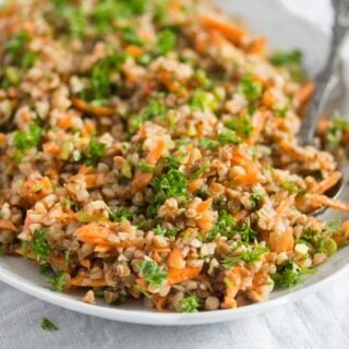 roasted buckwheat salad recipe