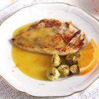 chicken with orange sauce 200x200 Chicken in Orange Sauce