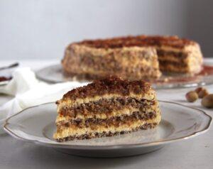 egyptian cake 300x238 Egyptian Hazelnut Cake