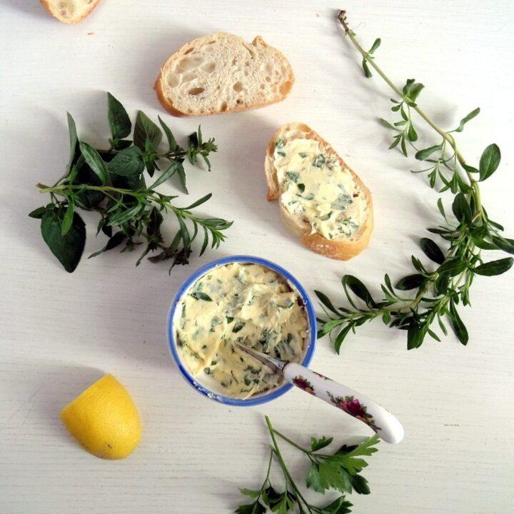 Best Herb-Garlic Butter Ever