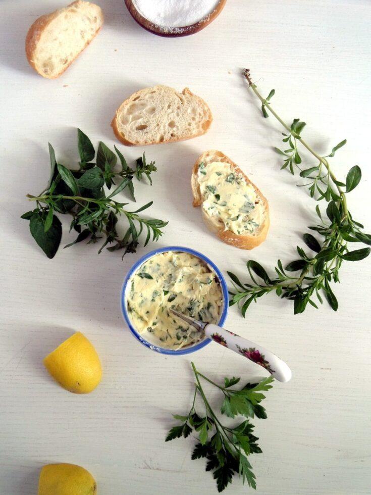 , Herb Garlic Butter