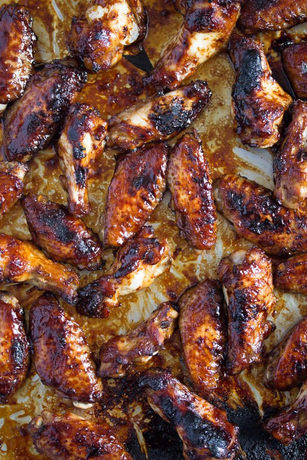 hoisin chicken wings 5 Oven Baked Chicken Wings – Sweet and Spicy Chicken Wings
