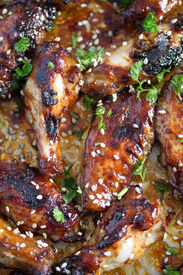 hoisin chicken wings 6 Oven Baked Chicken Wings – Sweet and Spicy Chicken Wings