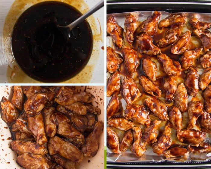 how to make oven baked chicken wings
