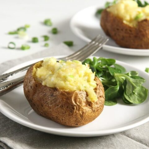 jacket potato with filling