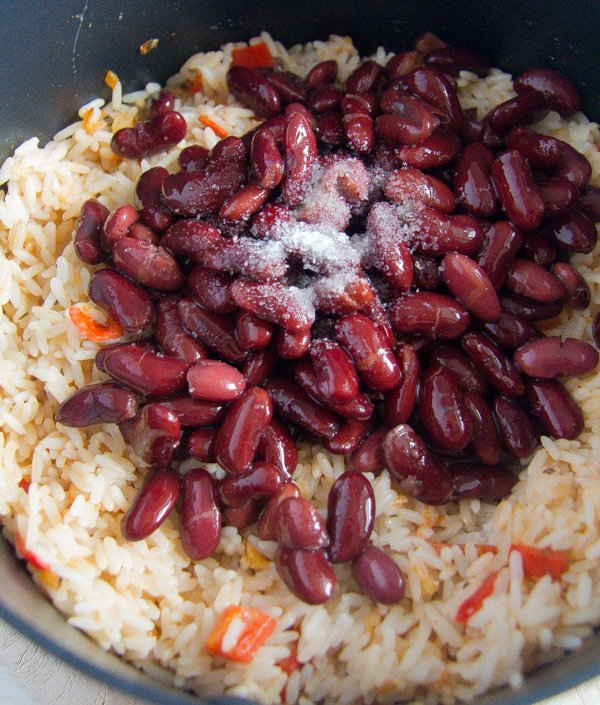 how to make caribbean rice and beans