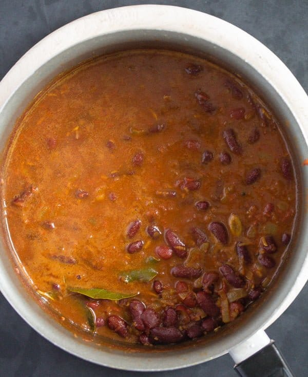 how to make rajma curry