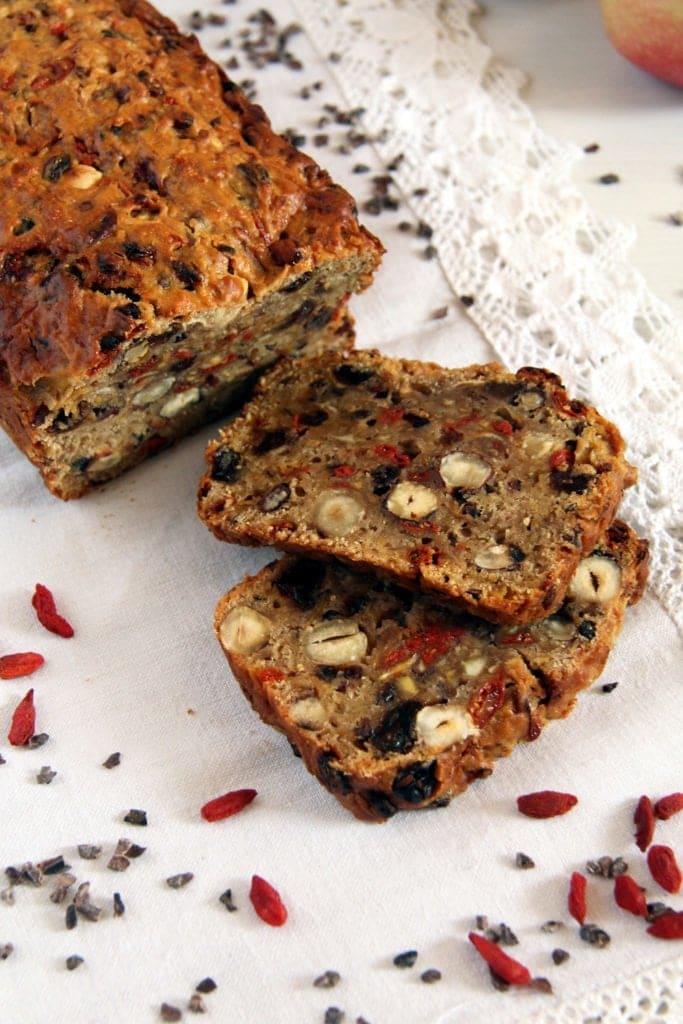 apple walnut bread, Vegan Apple Bread