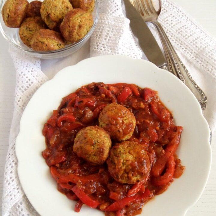 Veggie and Chickpea Meatballs