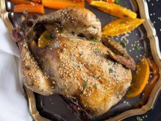orange roasted chicken