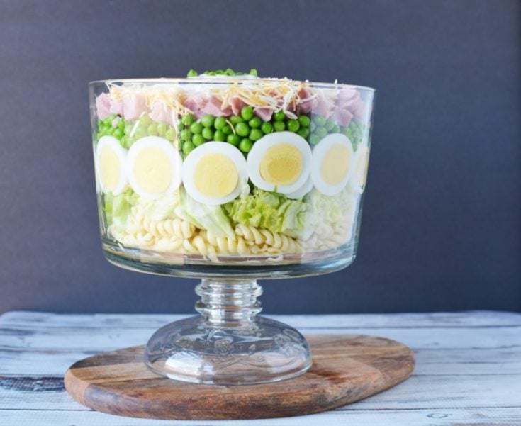7 Layer Salad 14 800x654 735x601 What To Do With Hard Boiled Eggs