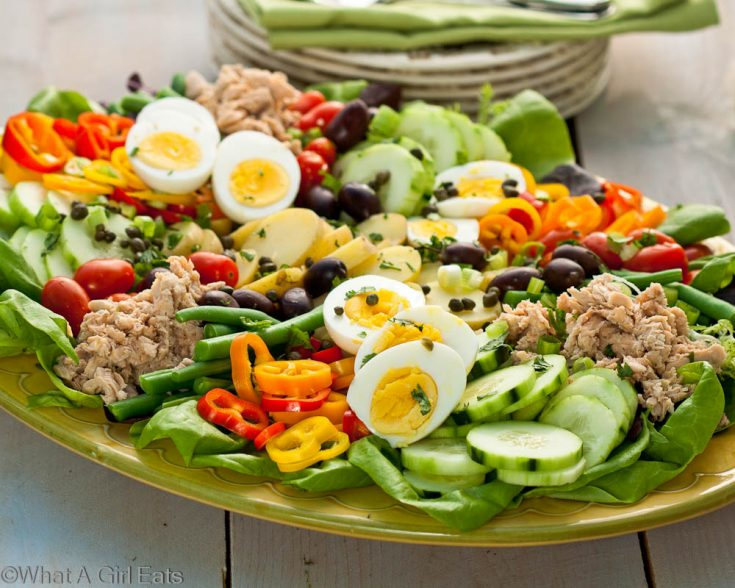 Nicoise Salad 735x588 What To Do With Hard Boiled Eggs