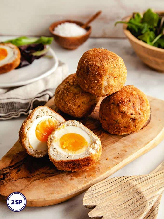 Scotch Eggs 2 SmartPoints What To Do With Hard Boiled Eggs