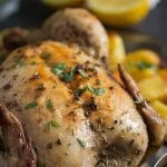 Greek chicken with lemon and potatoes