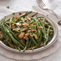 green bean almondine 6 200x200 Green Beans Almondine – French Style Green Beans Recipe