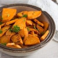 pan fried sweet potatoes 6 200x200 Pan Fried Sweet Potatoes – Sweet Potato Side Dish