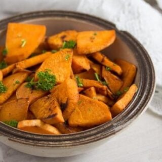 Pan Fried Sweet Potatoes – Sweet Potato Side Dish