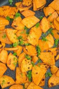 pan fried sweet potatoes 7 200x300 Pan Fried Sweet Potatoes