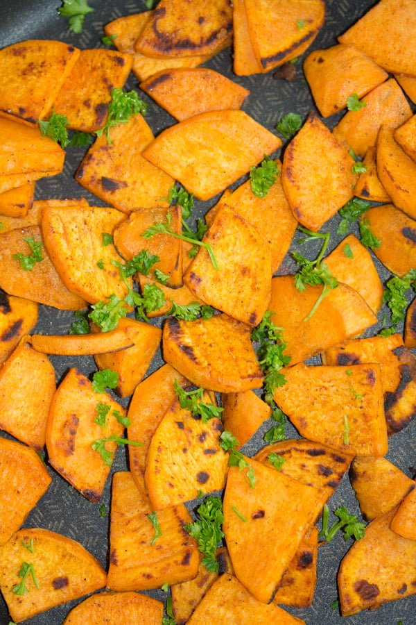 fried sweet potato recipe