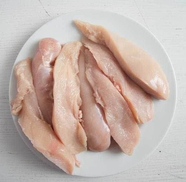 how to halve chicken breast