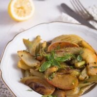 braised fennel 8 200x200 Braised Fennel with Apples