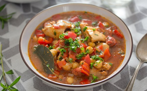 chicken chorizo stew 5 Chicken and Chorizo Stew – Spanish Stew