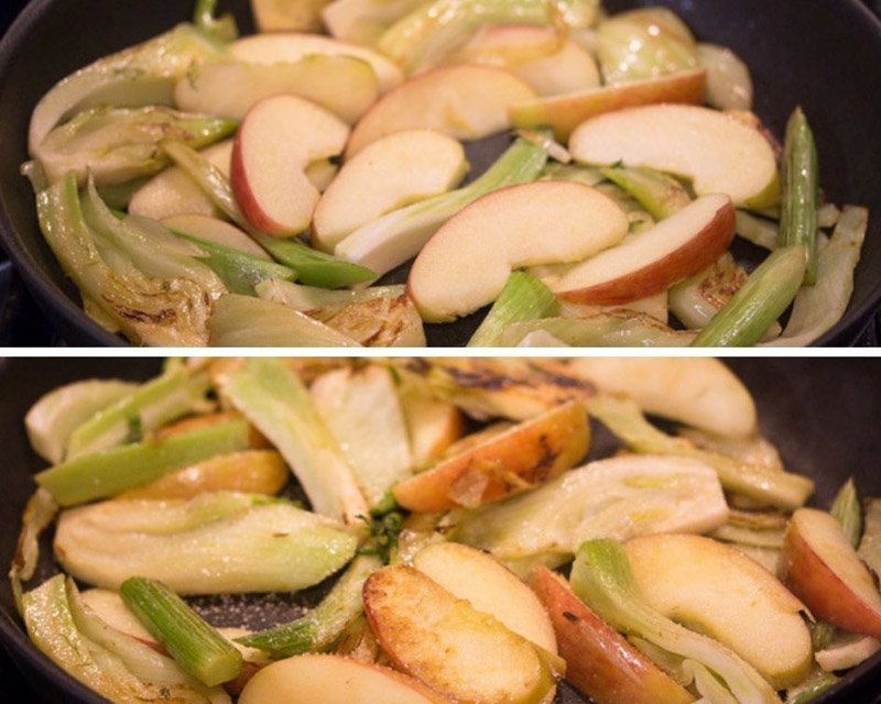 how to braise fennel 3 Braised Fennel with Apples
