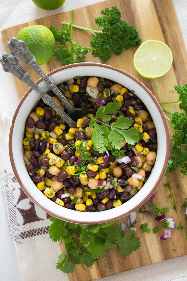 Mexican bean salad healthy