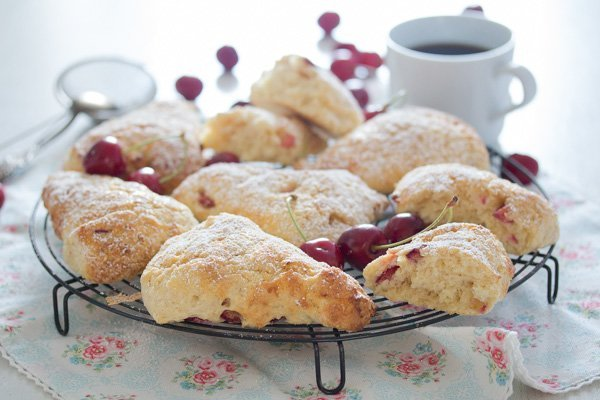 cherry scones 13 Cherry Scones Recipe
