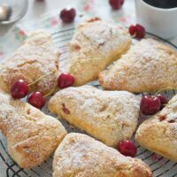 cherry scones 7 200x200 Cherry Scones Recipe