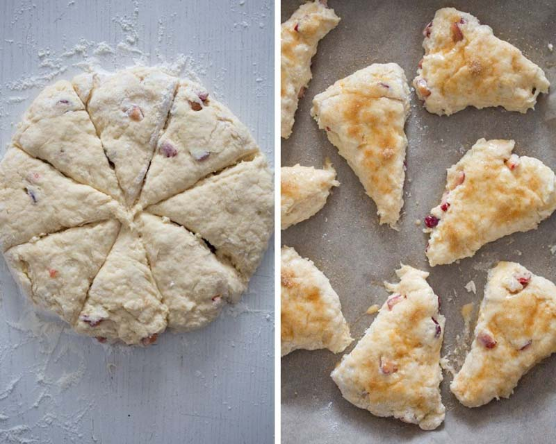 how to make cherry scones 2 Cherry Scones Recipe