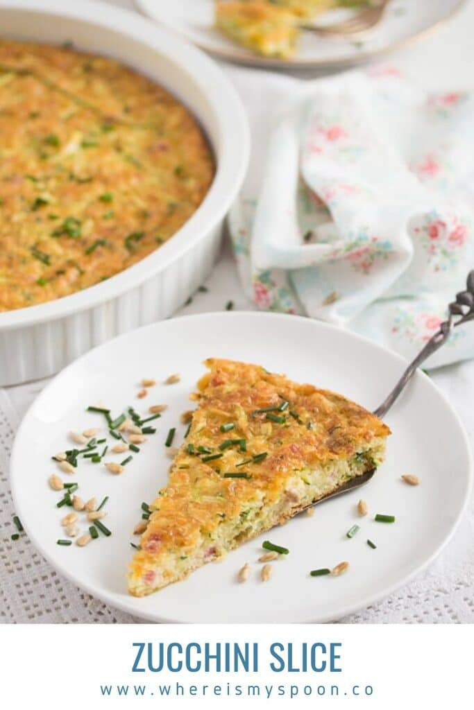 zucchini slice recipe