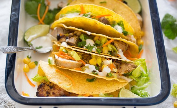 lime chicken tacos 7 Lime Chicken Tacos