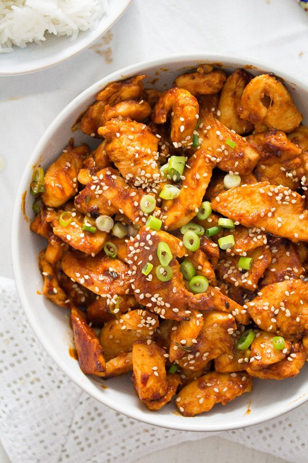 spicy korean chicken recipe with gochujang