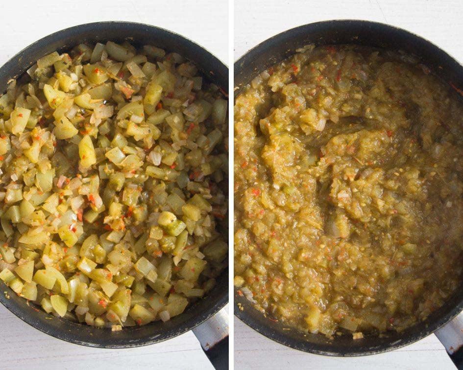 how to make green tomato salsa verde Green Tomato Salsa Verde