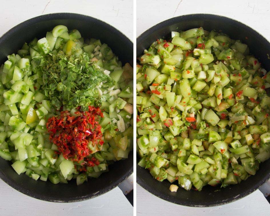 how to make green tomato salsa Green Tomato Salsa Verde
