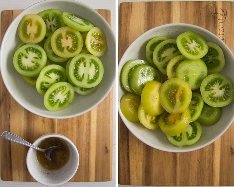 how to make grilled green tomatoes Green Tomatoes on the Grill