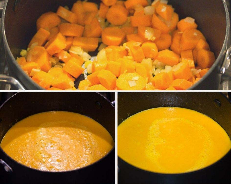 how to make vegan carrot soup Vegan Carrot Soup with Ginger