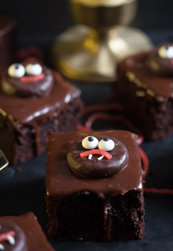 hallloween brownies that children can make