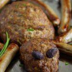 spider meatloaf for halloween