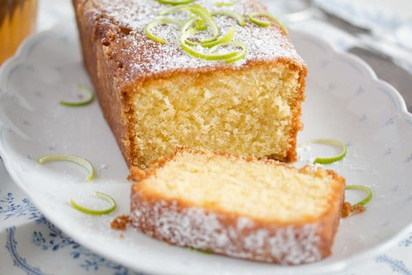 , Lime Drizzle Cake