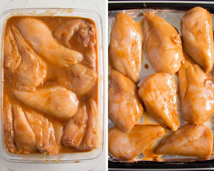 marinating bbq chicken breasts Baked Bbq Chicken Breast