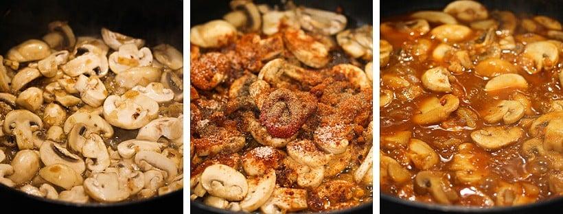 how to make mushroom stew