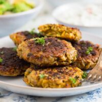 oatmeal patties with carrots 8 200x200 Vegetarian Patties with Oats