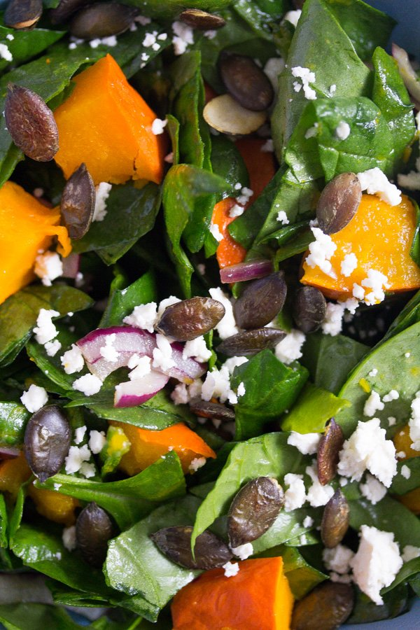 roast pumpkin salad 3 Roast Pumpkin Salad